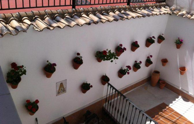 Don Paula hotel in Cordoba. Courtyard