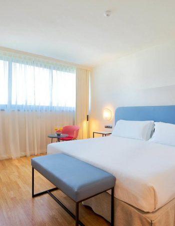 Eurostars Málaga – Comfortable 4 star lodgings near the Málaga train station, the Málaga city center and the beach