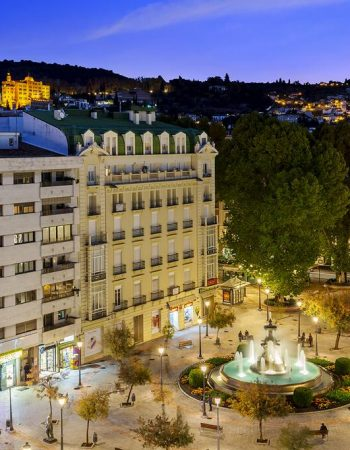Eurostars Puerta Real – Beautiful 4 star hotel in Granada near the cities cathedral