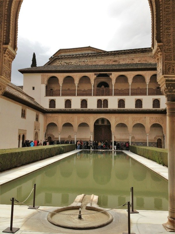 Patio in la Alhambra, Granada