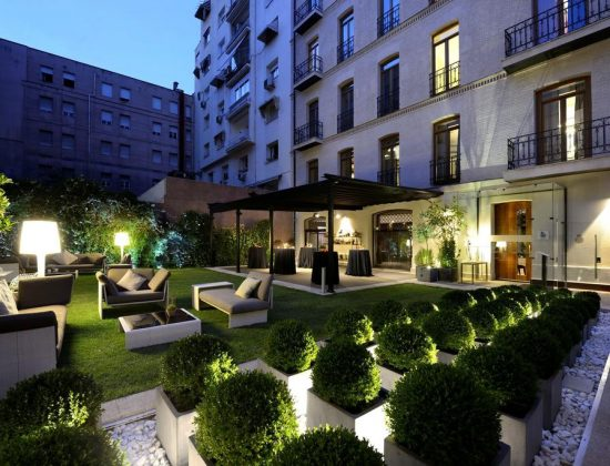 Hotel Único Madrid – Luxurious 5 star hotel in the Salamanca neighborhood of Madrid