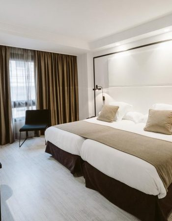 Hotel Abando – Inviting 4 star hotel in the heart of Bilbao near the Guggenheim museum