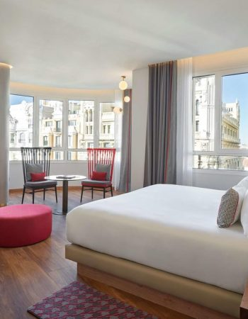 Hyatt Centric Gran Via Madrid – Luxury 5 star hotel with amazing views of downtown Madrid located right on Gran Vía