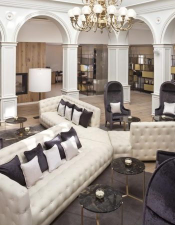 Palacio de los Duques Gran Meliá – Housed within a XIX palace, this luxurious 5 star hotel is just 300 meters from the Royal Palace in the heart ofMadrid