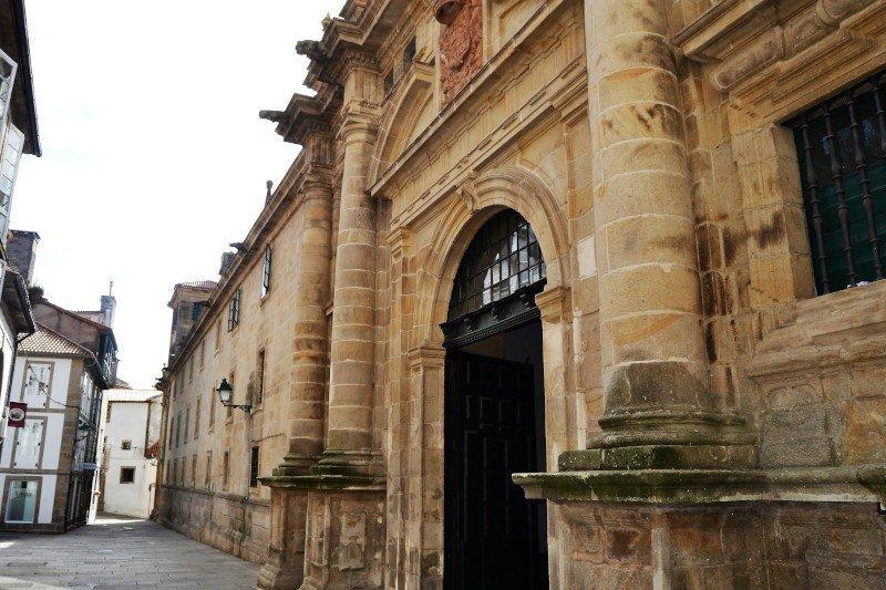 Monument in Santiago de Compostela