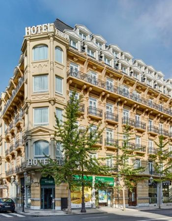 Sercotel Hotel Europa – Beautiful and affordable 3 star lodgings in the center of San Sebastian near La Concha beach
