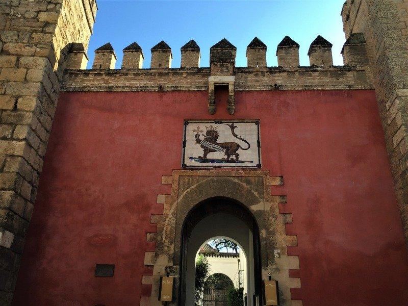 Wall in seville