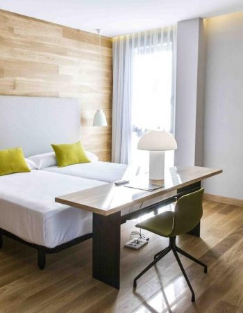 Zenit San Sebastián – Gorgeous 4 star accommodations near the San Sebastian Amara train station in the center of the city