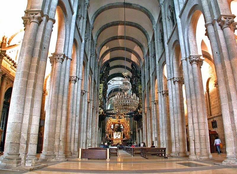 Santiago cathedral interior