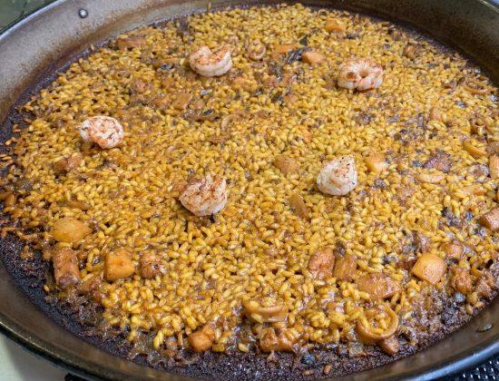 AlliOli Valencian Food – great paella near el Rastro and Puerta de Toledo in Madrid
