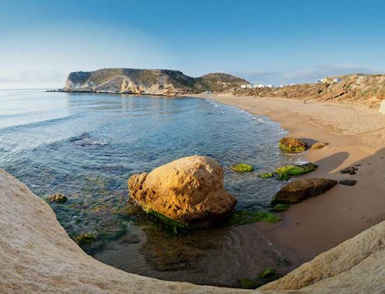 Playa Carolina – un-touched beach in Murcia