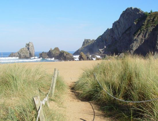 PLAYA DE LAGA – One of the greatest beaches of the Basque country in Northern Spain