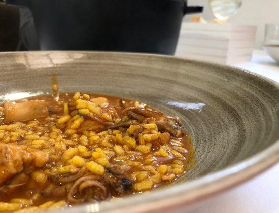Ferro – Truly Valencian gastronomy and rice next to Serranos towers – Valencia