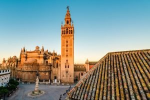 Attractions in Seville : La Giralda in Seville