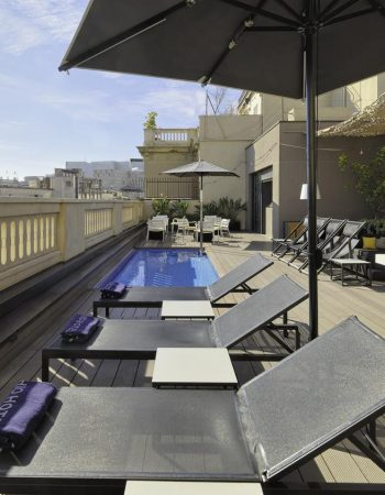 H10 Urquinaona Plaza – Spectacular 4-star hotel in the Born neighborhood in the center of Barcelona