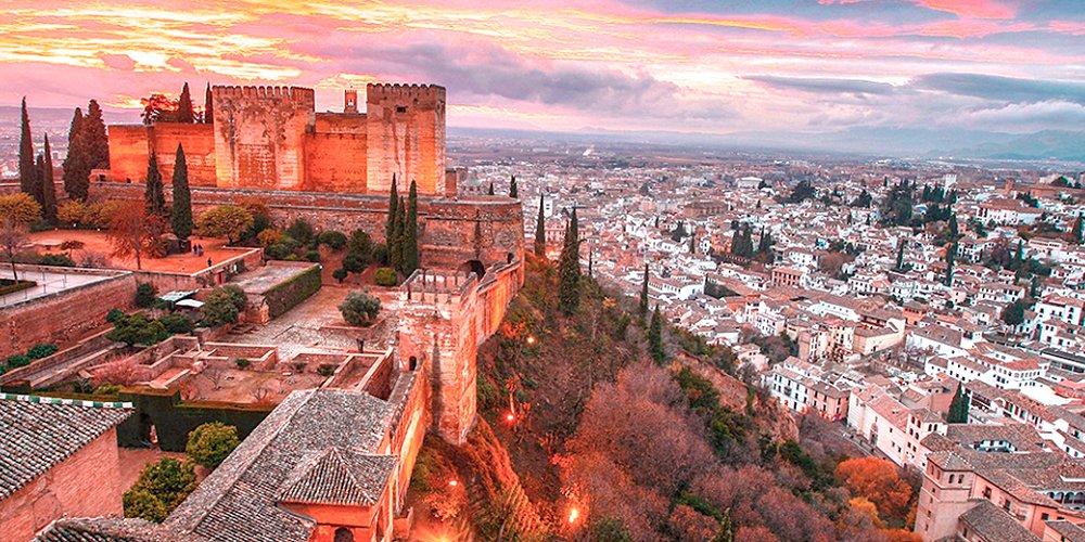 Alhambra Granada exterior