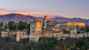 Romantic hotels near the Alhambra of Granada