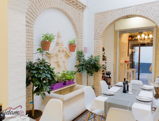 Marídame – Excellent traditional Andalusian restaurant in the center of Córdoba that features a rooftop terrace with amazing views of the Mezquita
