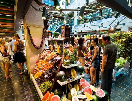 San Anton Market in Chueca, Madrid