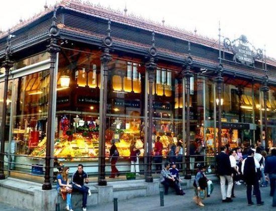 Mercado de San Miguel- a foodies paradise in Madrid