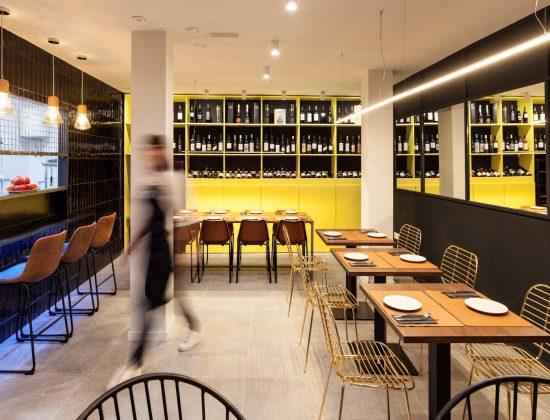 Palo Cortao restaurant in Seville