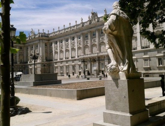 Plaza de Oriente- Madrid