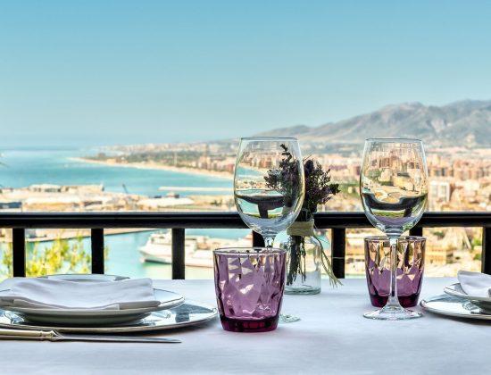 Restaurante Parador de Málaga Gibralfaro – One of the best dining experiences you can have in Málaga