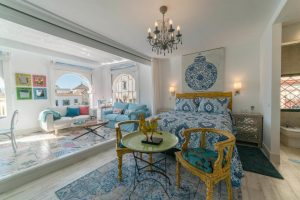 Romantic luxury lodgings in Seville