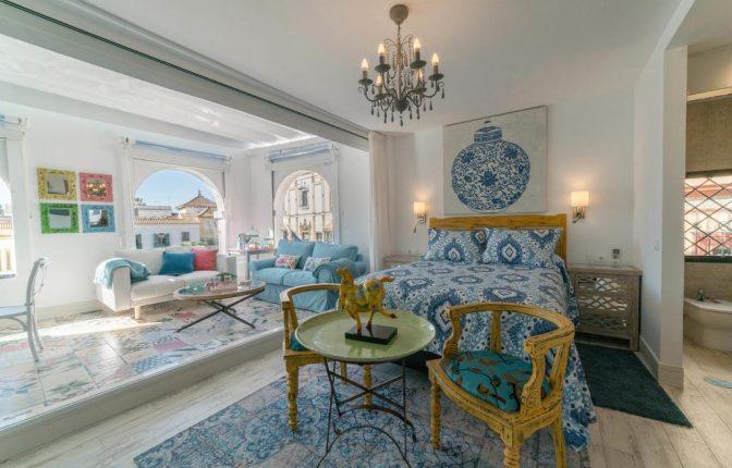 Romantic luxury lodgings in Seville