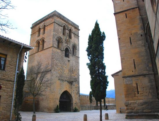 Santa Maria de los Reyes and its amazing Portico in Laguardia