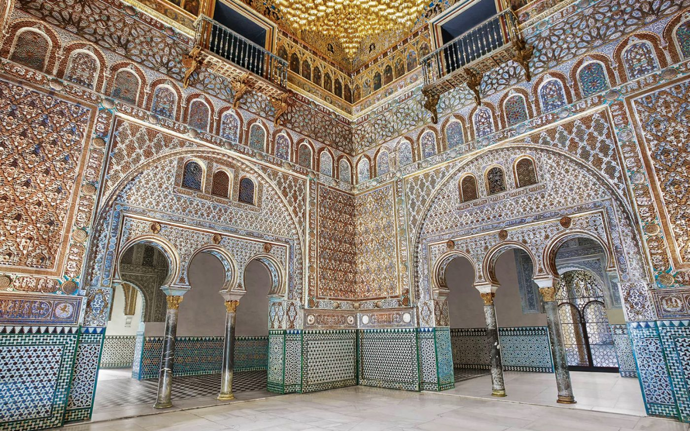 The Real Alcazar of Seville in Seville