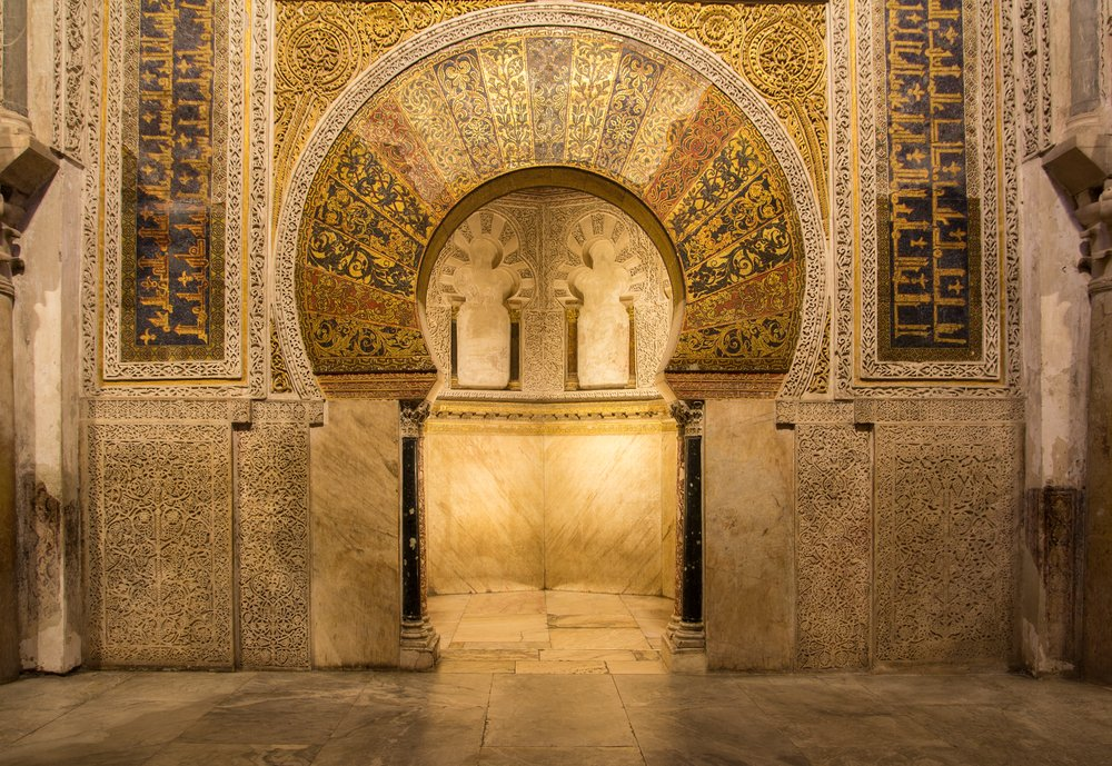 The mosque of Cordoba in Cordoba
