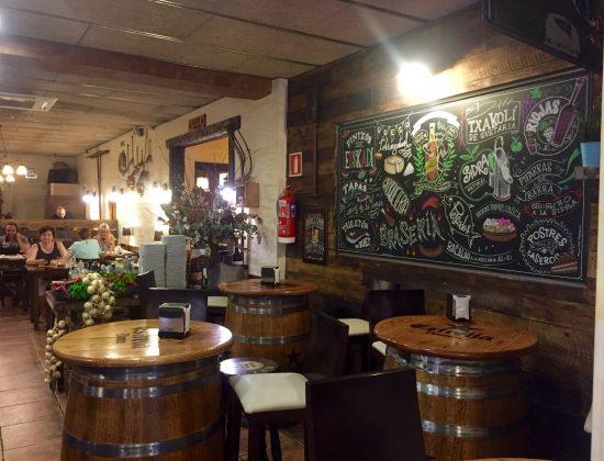 Txapeldun Egarri restaurant in Barcelona