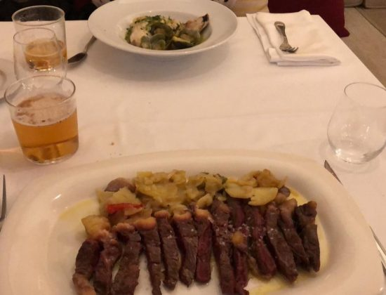 Victoria 57 restaurant near Cordoba´s synagogue