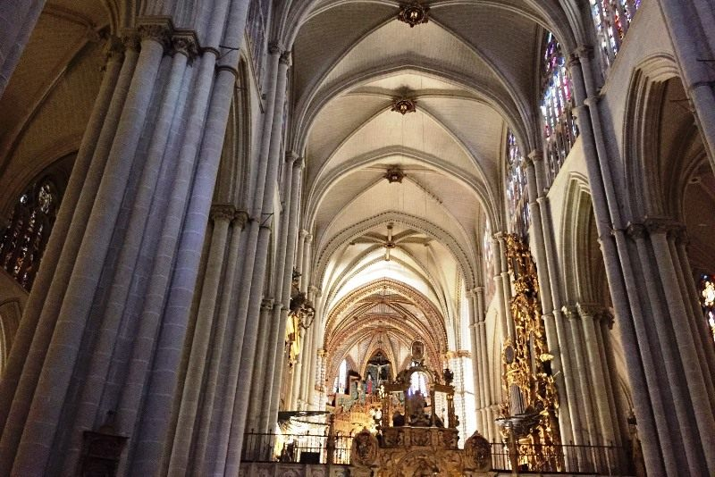 Altar Toledo cathedral spain