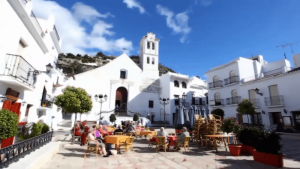 Square in Frigiliana