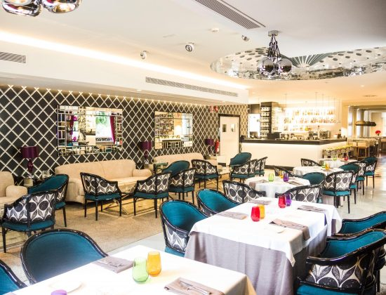 Palmyra – Elegant Andalusian restaurant located within the Hotel Monarque Sultán in Marbella