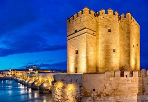 Roman bridge and Calahorra tower