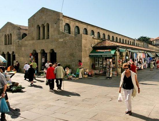 Santiago food market (Mercado de Abastos)- Santiago de Compostela