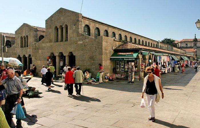 Santiago food market (Mercado de Abastos)