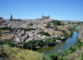 Toledo Spain landscape