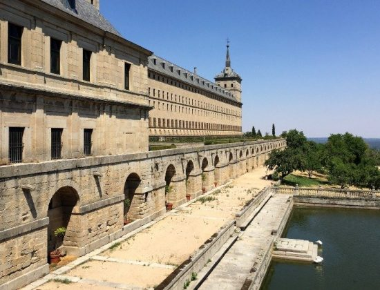 El Escorial in Madrid, Spain