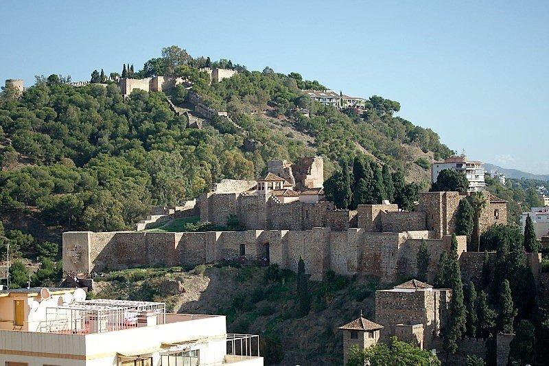 La Alcazaba de Malaga - Gribalfaro