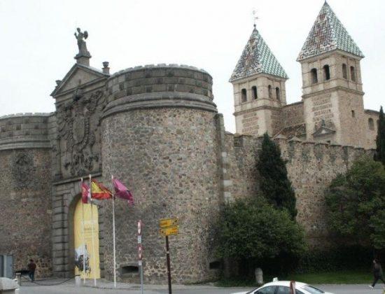 Puerta de Bisagra inToledo