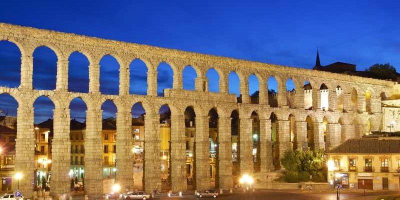 Roman aqueduct- Segovia
