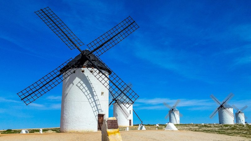 Don Quixote Windmills