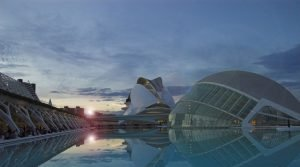 City of arts Valencia Spain