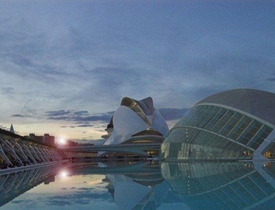 City of arts Valencia Spain