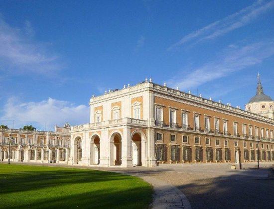 The Royal Palace of Aranjuez and gardens