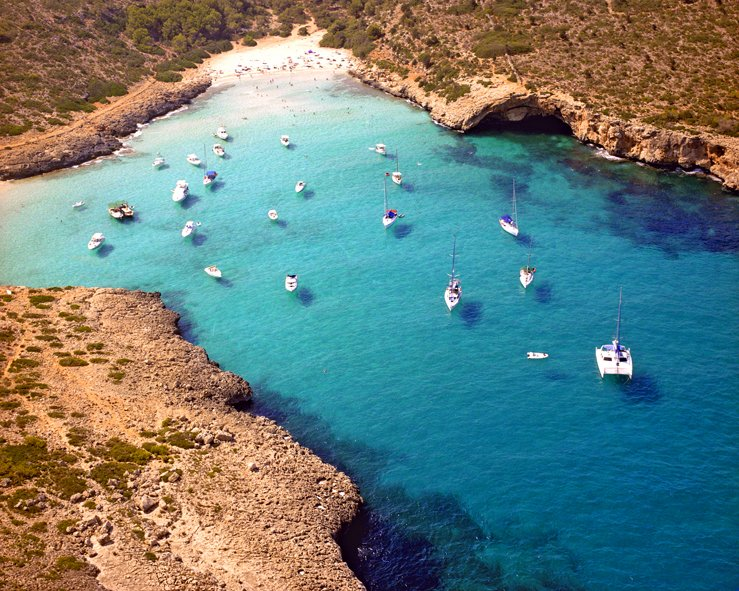 Cala Varques-90 meters of chilled-out